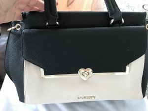 Love Moschino Bolso barrel negro-blanco