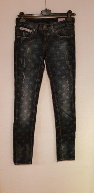Herrlicher Jeans slim fit blu