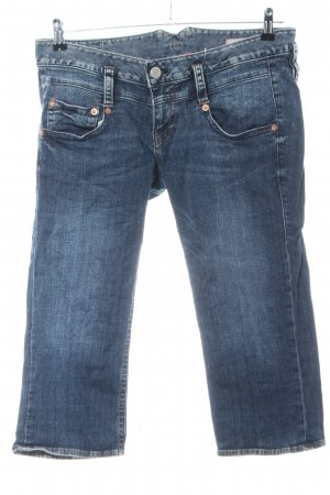 Herrlicher 3/4 Jeans blau Casual-Look