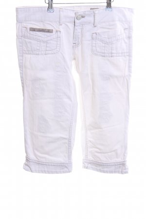 Herrlicher 3/4 Length Jeans white casual look