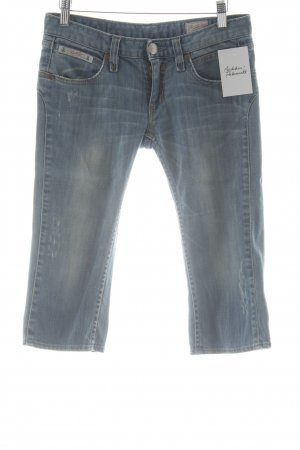 Herrlicher 3/4 Jeans graublau-blassblau Casual-Look