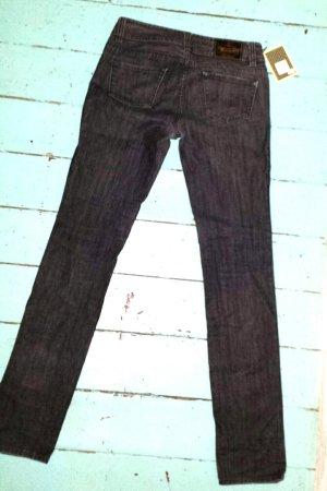 Herrlicher Low Rise jeans zwart