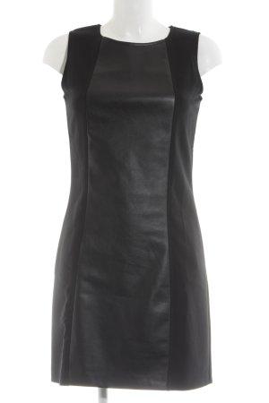 Herrlicher Robe crayon noir style festif