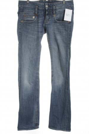 Herrlicher Boot Cut Jeans blassblau Casual-Look