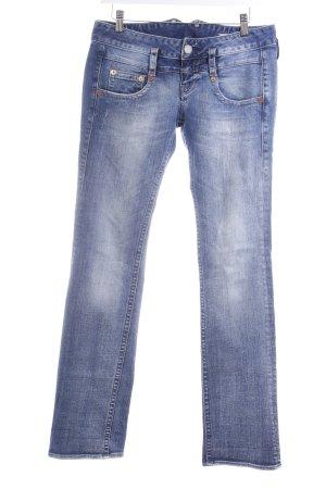 Herrlicher Jeans bootcut bleu style décontracté