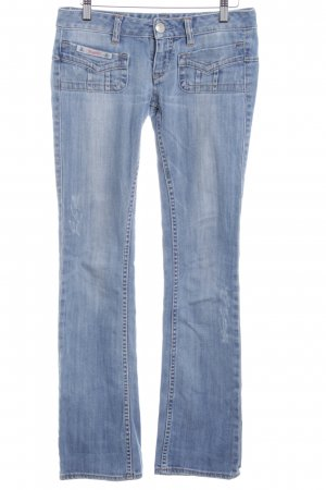 Herrlicher Jeans bootcut bleu azur style décontracté