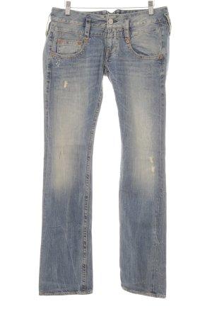 Herrlicher Boot Cut Jeans kornblumenblau Casual-Look