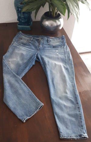 Herrlicher Boyfriend Jeans pale blue mixture fibre