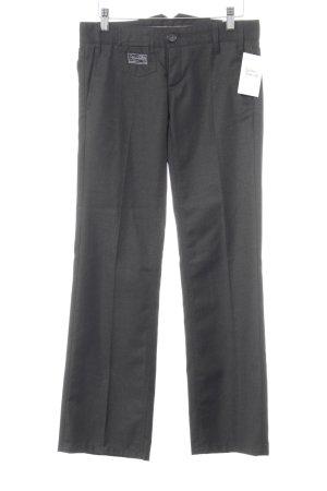 Herrlicher Pantalon à pinces noir style décontracté
