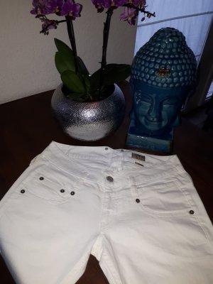 Herrlicher Slim jeans wit Katoen