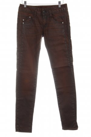 "Herrlicher Five-Pocket Trousers ""Gila"" brown"