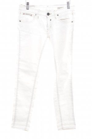 Herrlicher Five-Pocket Trousers natural white casual look