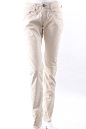 Herrlicher Five-Poket-Hose beige