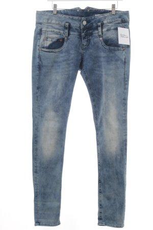 Herrlicher High Waist Jeans blassblau-graublau Jeans-Optik