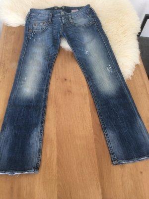 herrlicher jeans g nstig kaufen second hand. Black Bedroom Furniture Sets. Home Design Ideas
