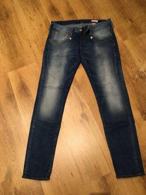 Herrlicher Jeans elasticizzati azzurro