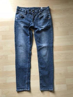 Herrlicher Jeans Gr 30/32 Bijou Blau