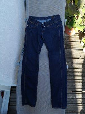 Herrlicher Pantalone cinque tasche blu scuro