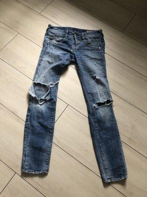 Herrlicher Jeans im Destoyed Look