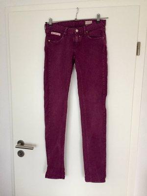 Herrlicher Jeans Touch 28/34 bordeaux