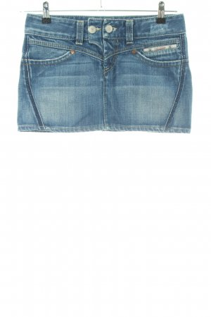 Herrlicher Jeansrock blau Street-Fashion-Look