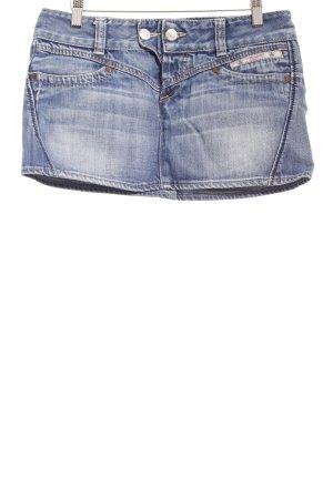 Herrlicher Jeansrock blau Jeans-Optik