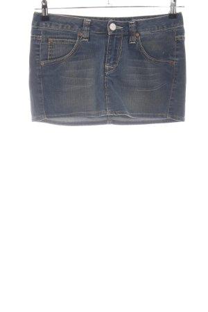 Herrlicher Jeansrock blau Casual-Look