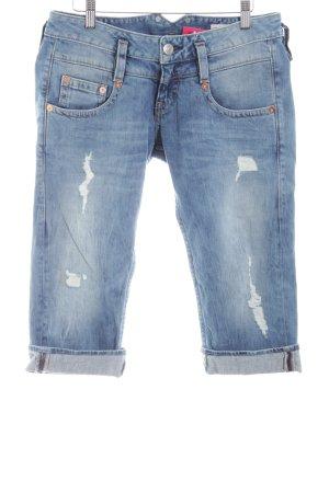 Herrlicher Jeansshorts blau Casual-Look