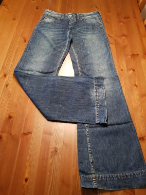 Herrlicher Jeans flare bleu foncé