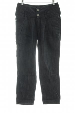 Herrlicher Carrot Jeans slate-gray-blue casual look