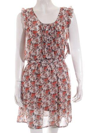 Herrlicher Kleid florales Muster Beach-Look