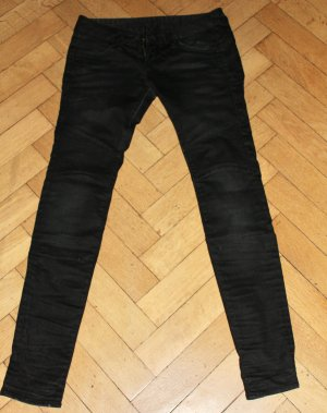 Herrlicher Knack Po Jeans Moira SLIM 5663 Skinny Fit schwarz