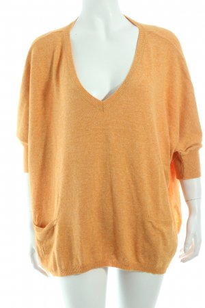 Herrlicher Oversized Pullover apricot meliert Casual-Look