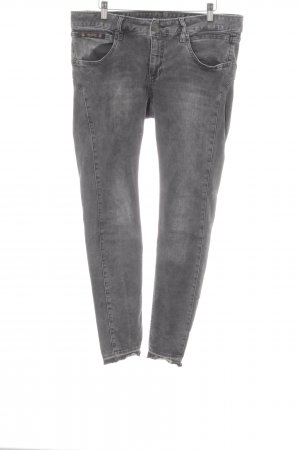 Herrlicher Drainpipe Trousers anthracite-grey casual look