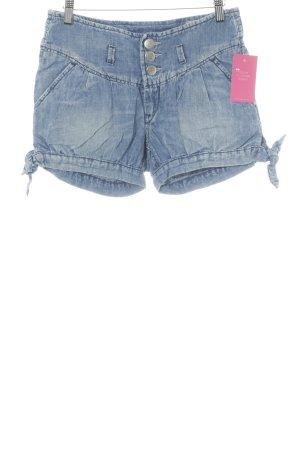 Herrlicher Shorts blau Jeans-Optik