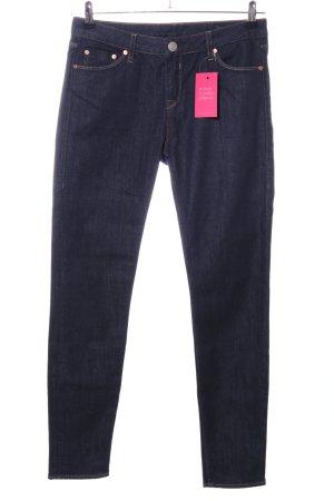 Herrlicher Skinny Jeans blau Business-Look