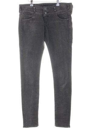 Herrlicher Skinny Jeans hellgrau Casual-Look
