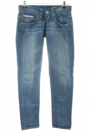 Herrlicher Skinny Jeans blau Casual-Look