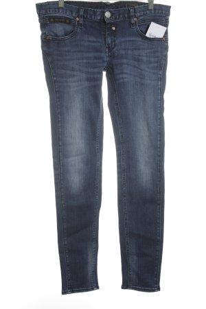 Herrlicher Skinny Jeans dunkelblau-blau Casual-Look