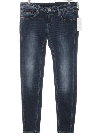 Herrlicher Skinny Jeans dunkelblau Casual-Look