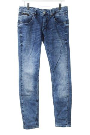 Herrlicher Skinny Jeans dunkelblau schlichter Stil