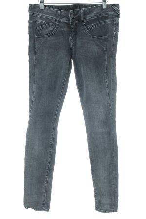 Herrlicher Skinny Jeans grau Casual-Look