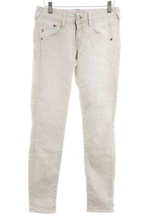 Herrlicher Skinny Jeans hellbeige Casual-Look