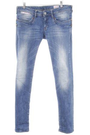 Herrlicher Skinny Jeans himmelblau Casual-Look