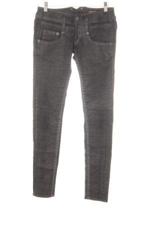 Herrlicher Jeans skinny nero stile casual