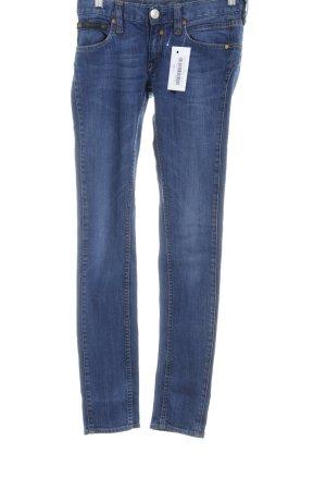 Herrlicher Skinny Jeans stahlblau Casual-Look