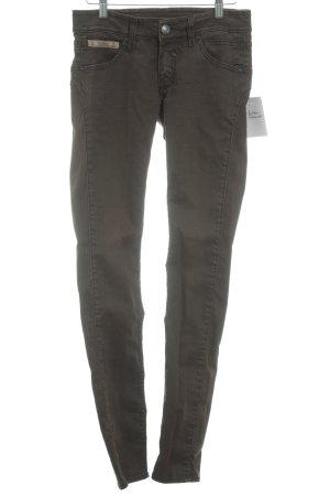 """Herrlicher Skinny Jeans """"Touch Slim"""" braun"""