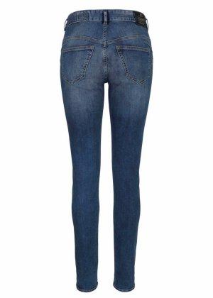 Herrlicher Slim-fit-Jeans BRITT SLIM Low Waist mit Push-Up Effekt