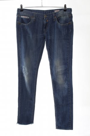 Herrlicher Jeans slim bleu style décontracté