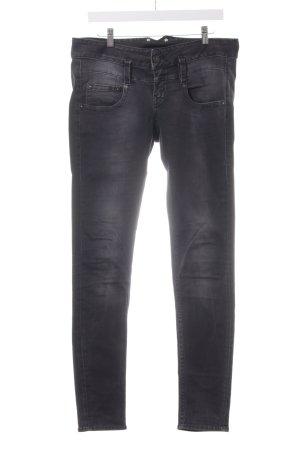 Herrlicher Slim Jeans anthrazit Casual-Look